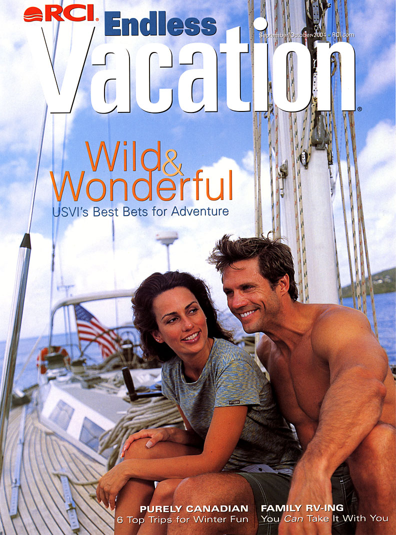 Endless Vacation magazine cover: September | Oct 2004: Virgin Islands