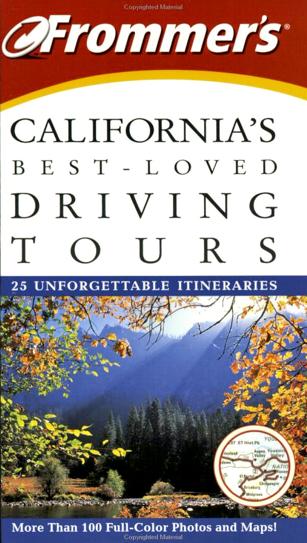 Frommer's California Travel Guide: book cover - 2003