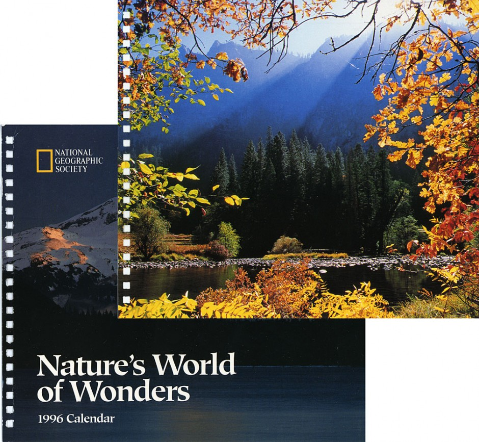 National Geographic: calendar 1996