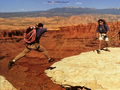 REI – Spring brochure cover 1997