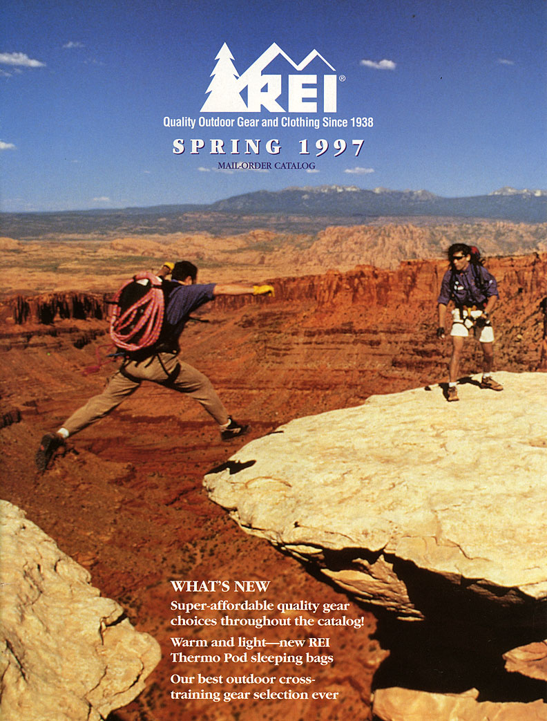 REI - Spring brochure cover 1997