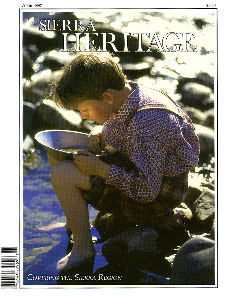 Sierra Heritage magazine cover - April 1997