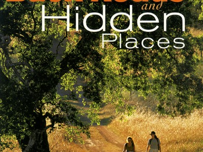 Sunset publishing book cover: Backroads and Hidden Places