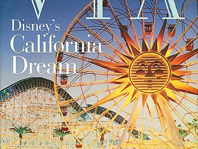 Via magazine cover: January 2001: Disney's California Adventure