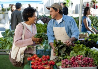 USA: California: Los Angeles County: Westwood: Westwood Farmer's Market