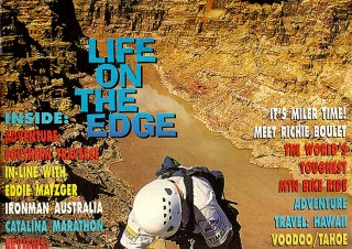 City Sports magazine cover: May 1998 – Eco-Challenge adventure race
