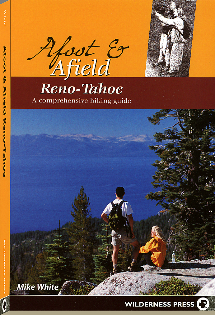 Wilderness Press Reno-Tahoe guidebook cover